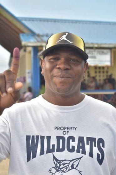 Dwayne Frasier of Belle West community.