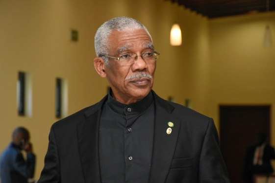His Excellency President David Granger.