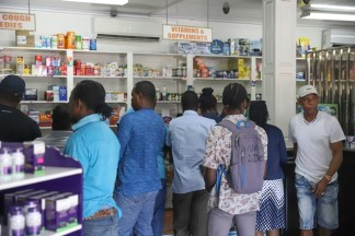 Inside Essential Care Pharmacy.