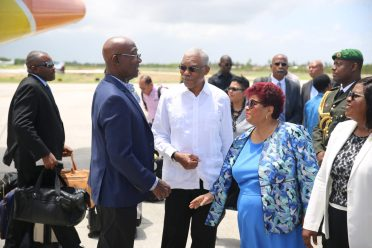 HE President David Granger & PM of Trinidad and Tobago, Dr. Keith Rowley