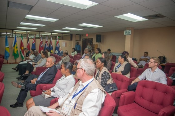 International Observers at the CARICOM Secretariat.