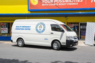 Public Health Emergency Operations Centre (PHEOC) gets a new bus.