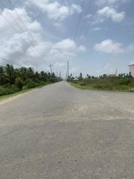Roads within the Enmore/Foulis area, empty as residents adhere to calls for social distancing