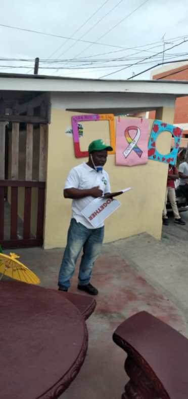 Chairman NDC Plaisance, Rodwell Lewis
