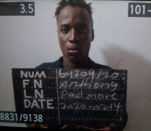 Lusignan Prison escapee Anthony Padmore