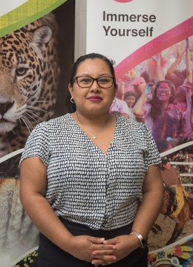 Director of the Guyana Tourism Authority, Carla James.