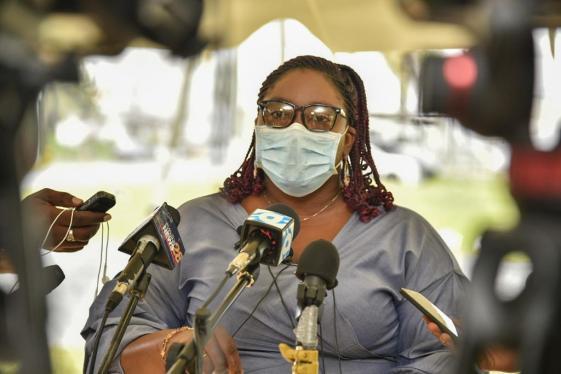 Public Relations Officer (PRO) of GECOM, Yolanda Ward