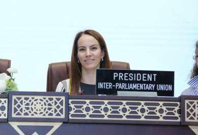 Gabriela Cuevas Barron, President, Inter-Parliamentary Union (IPU)