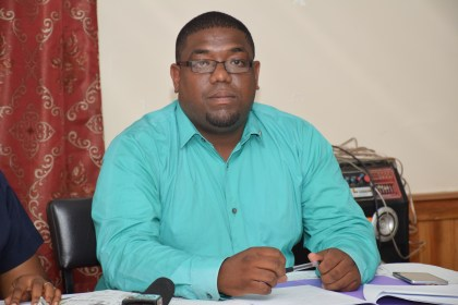 Regional Health Officer (RHO) Dr. Steven Cheefoon