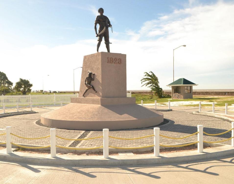 The 1823 Emancipation Monument