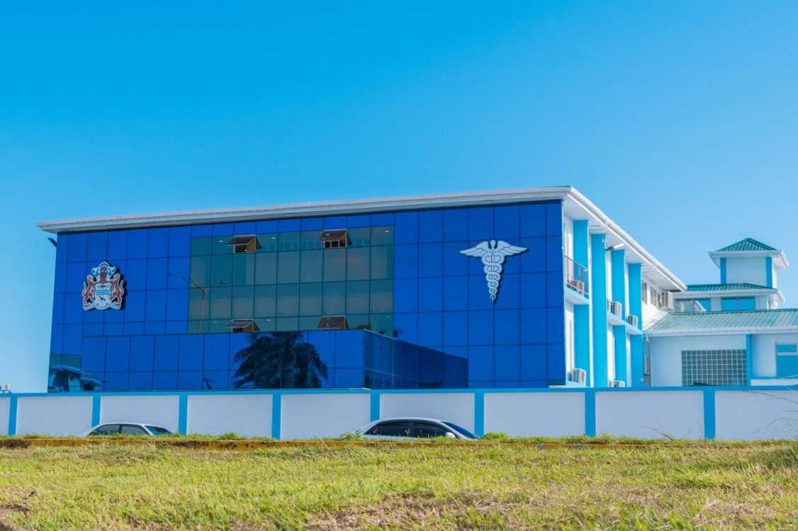 COVID-19 hospital commissioned as the Centre for Disease Prevention and Control