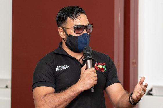 Founder of Team MMR, WR Reaz.