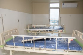 Some of the facility's beds