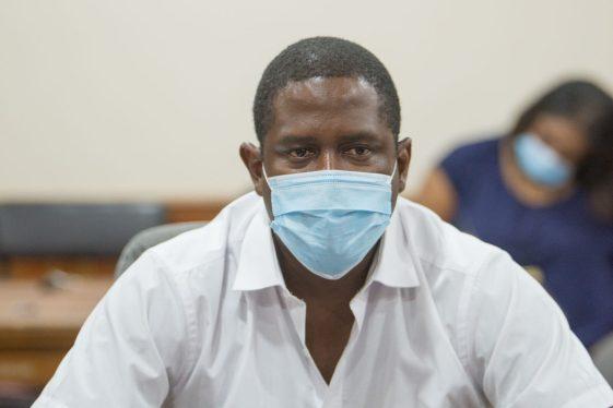 Regional Health Officer (RHO), Dr. Desmond Nicholson