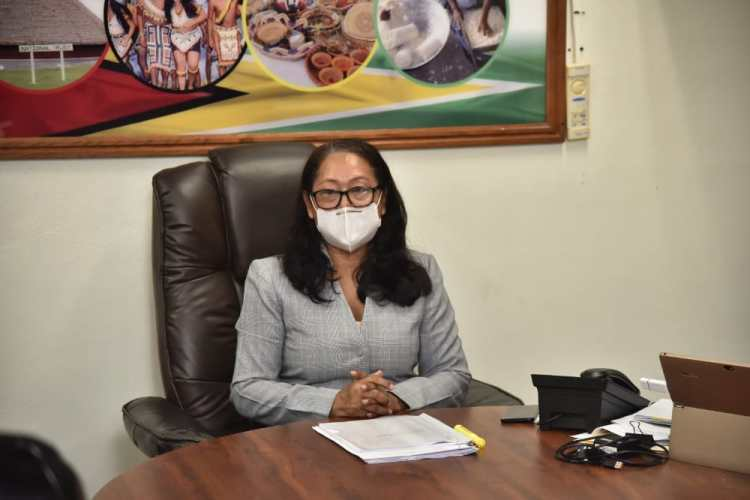 Minister of Amerindian Affairs, Hon. Pauline Sukhai