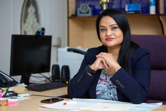 Minister of Human Services and Social Security Hon. Dr, Vindhya Persaud