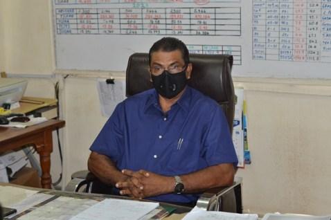 Manager of the Uitvlugt Leonora Estate, Yudhisthira Mana