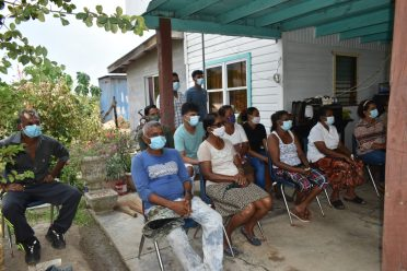 Residents of Esau and Jacob who received first time water service