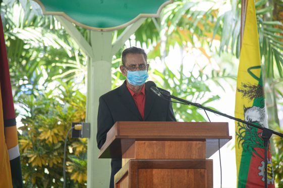 Chairman of the Cheddi Jagan Research Centre, Mr. Hydar Ally