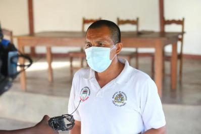 Massara's prospective Community Health Worker, Mr. Lenny Moses.