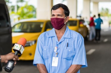 Taxi driver Mr. Wazeed Manjoor
