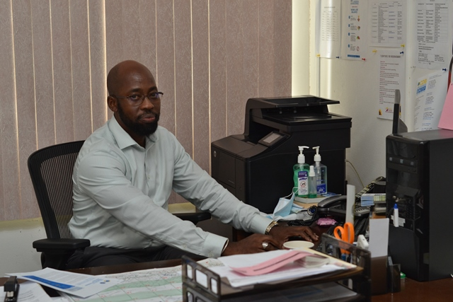 BNTF Guyana Project Manager, Mr Dikkedemma Utoh