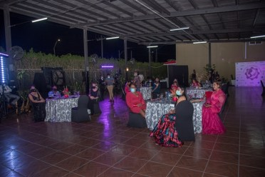 A section of the gathering at the Women's Chamber of Commerce and Industry Guyana's Founders' Dinner.