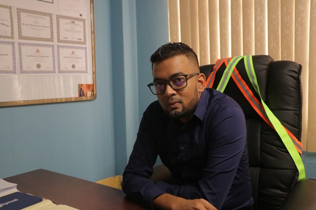 CH&PA Director of Projects, Mr. Omar Narine