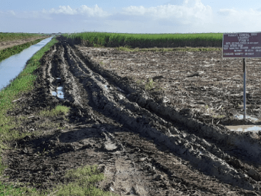 uitvlugt badly damaged infrastructure in field cultivation