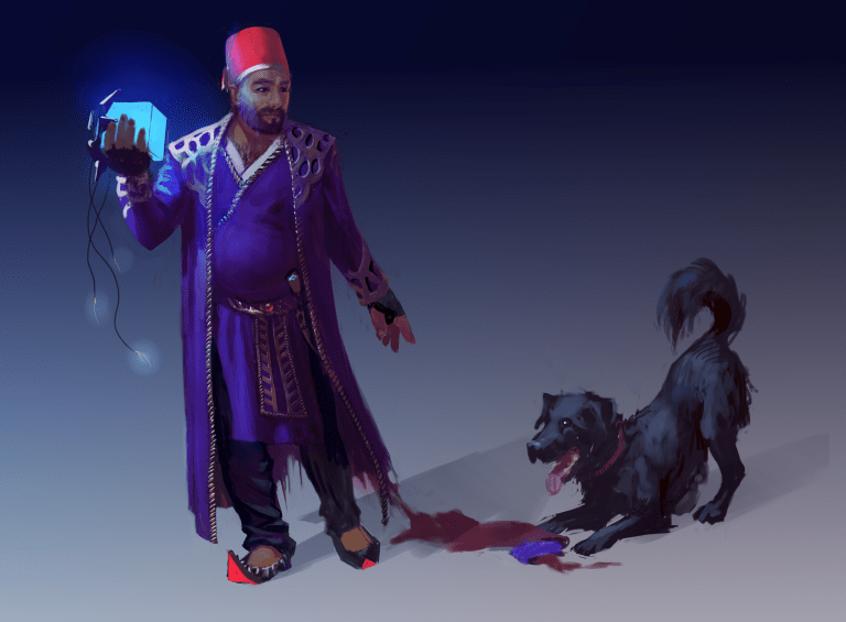 Mustafa Ali Pasha and Berry