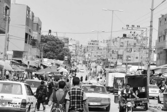 Khan Yunis Refugee Camp is located about two kilometers from the Mediterranean coast, north of Rafah in Gaza. It lies west of the town of Khan Yunis, a major commercial centre and stopoff point on the ancient trade route to Egypt. *Photo courtesy of Diaa' A;-Agha