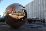 Sphere within Sphere,1991/93 By: Arnaldo Pomodoro Gift of Italy 1996 11.20.2015 UN Headquarters