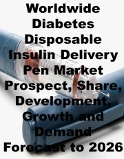 Diabetes Disposable Insulin Delivery Pen Market 2020 Size to Expand With Steady Pace by 2026