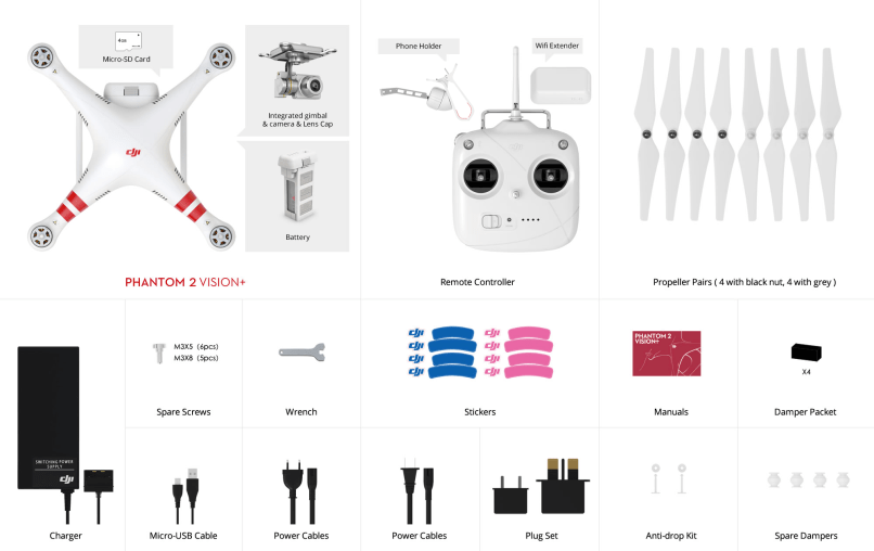 Manual Phantom 2 Vision Sz Dji Technology Co Ltd Please Check The Reference Image For Details