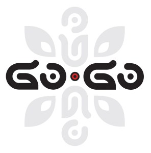 GO•GO Glyph and logo