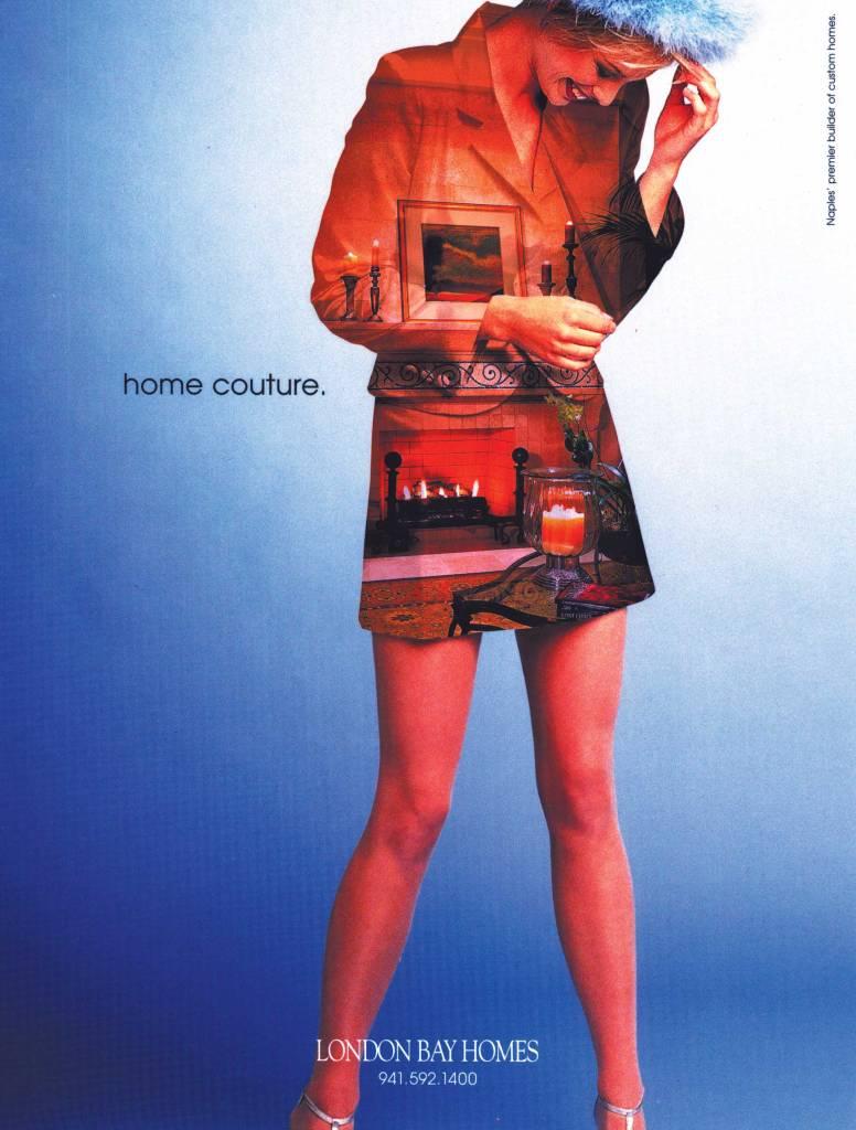 London Bay Homes print ad