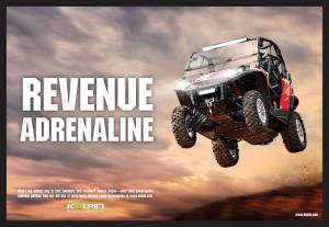 A print ad for Kolpin Powersports. D.P. Knudten, creative director, copywriter.