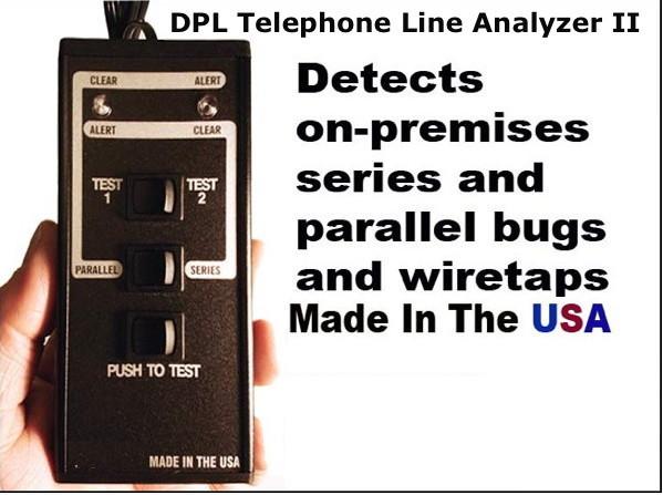 DPL TELEPHONE LINE ANALYZER II