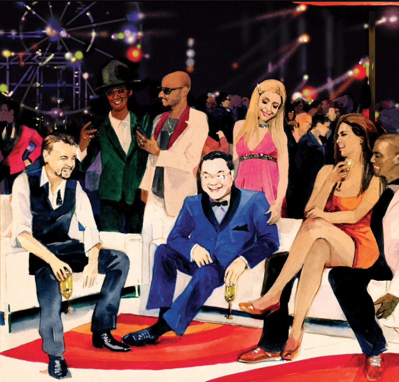 The Billion-Dollar Mystery Man and the Wildest Party Vegas Ever Saw (#GotBitcoin?)