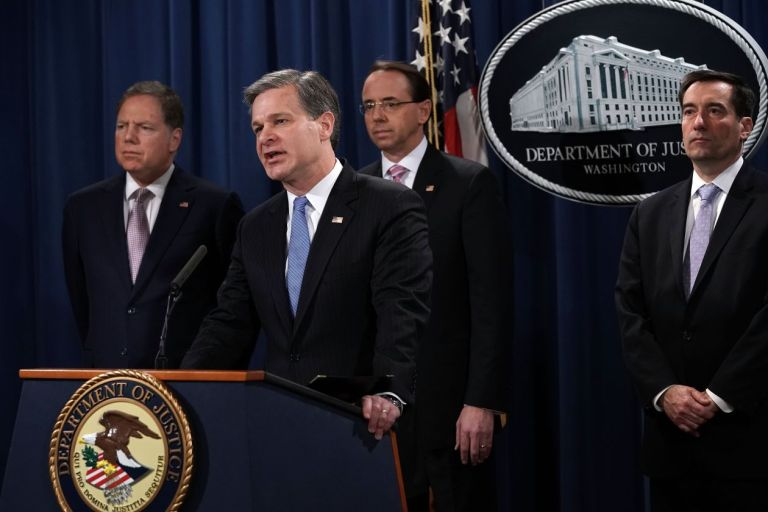 U.S. Charges China Intelligence Officers Over Hacking (#GotBitcoin?)
