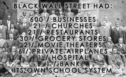 Black Wall Street: America's Dirty Little Secrets (#GotBitcoin?)
