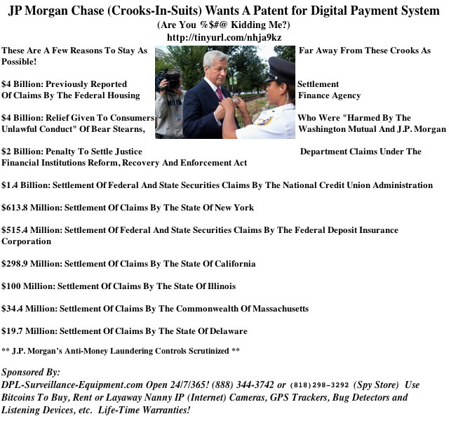 JP Morgan Again Displays Schizophrenic Love-Hate Relationship Towards Crypt-Currency (#GotBitcoin?)