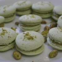 Fave recipe: Step-by-step vegan pistachio French macarons