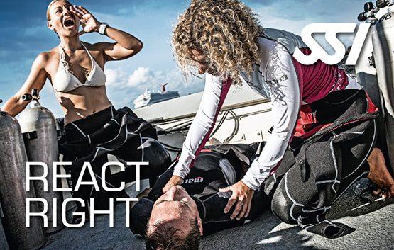 online scuba certification - react right