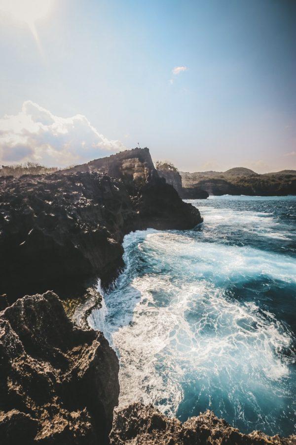 Nusa Penida Island Cliff