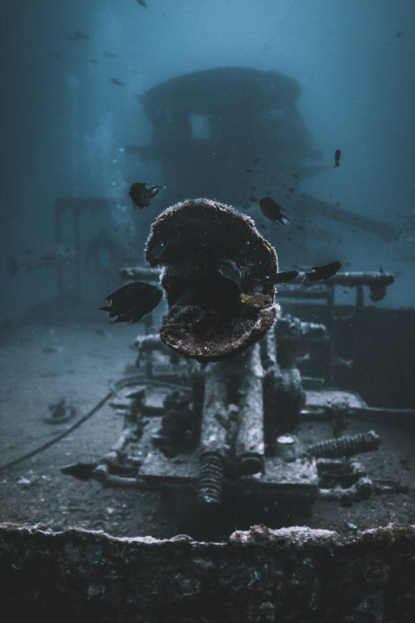 Shipwreck diving koh tao