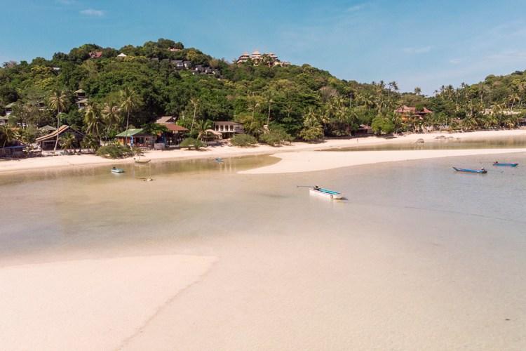 koh tao beaches: chalok bay