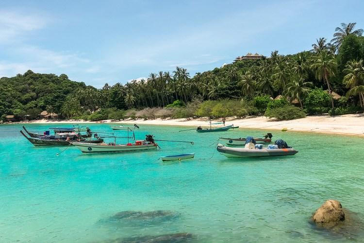 koh tao beaches: shark bay