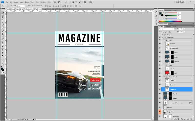 Photoshop Magazin Cover