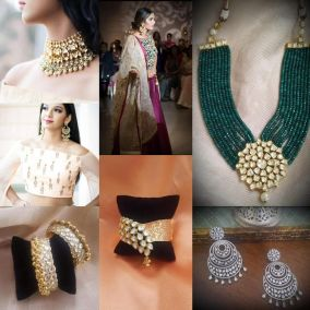 Vibgyor's Jewelry and Outfits
